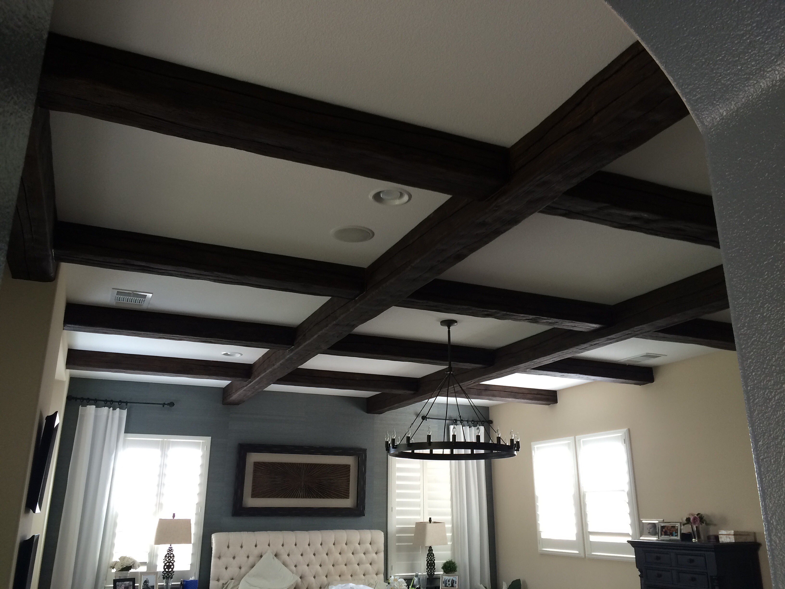 tulum ceiling decorative smsender faux beams co making ceilings