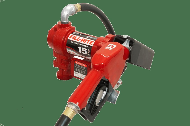 Fill Rite 15 gallon per minute fuel pump.