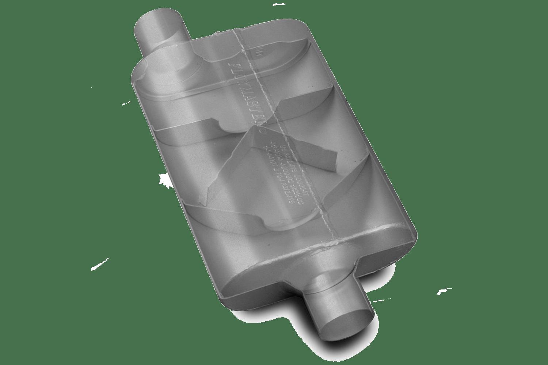 Flowmaster Super 44 cutaway.
