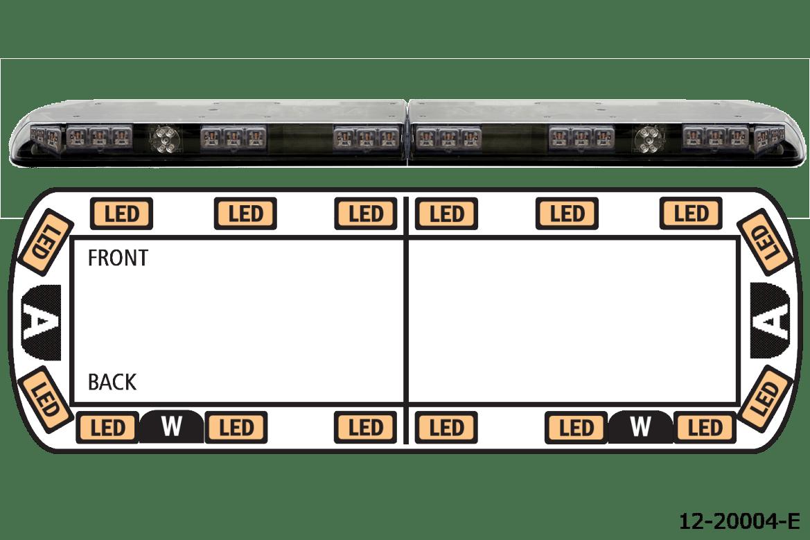 ecco lights light bar 12-20004-E