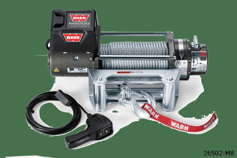 warn truck & Suv classic winches 26502 m8