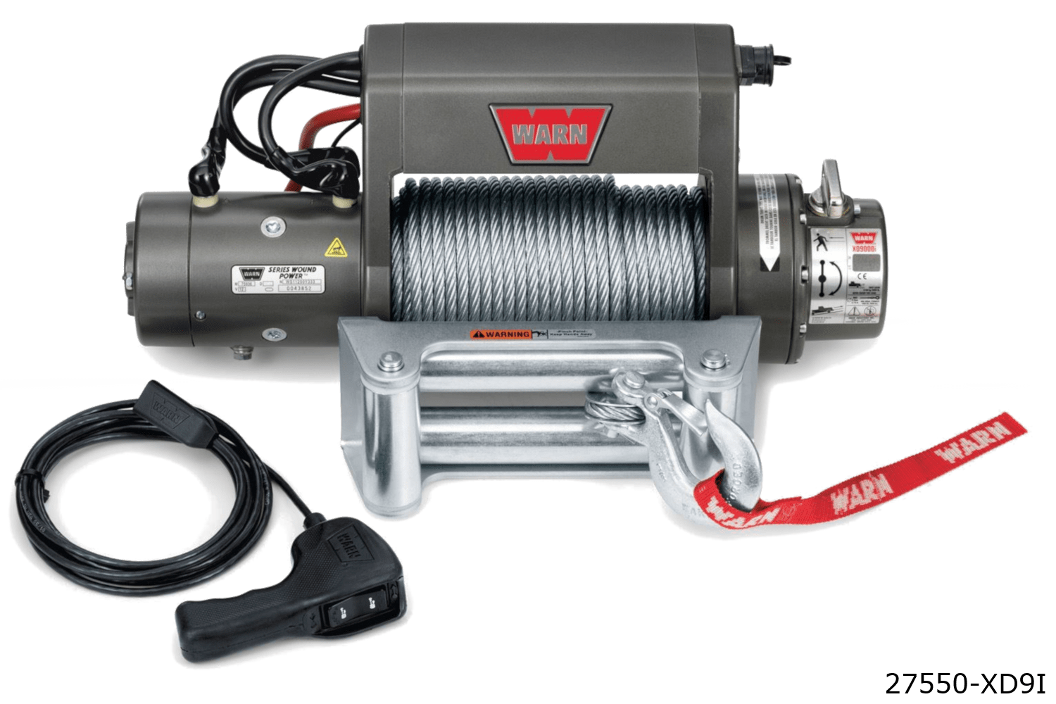 warn truck & suv classic winches 27550 xd9i