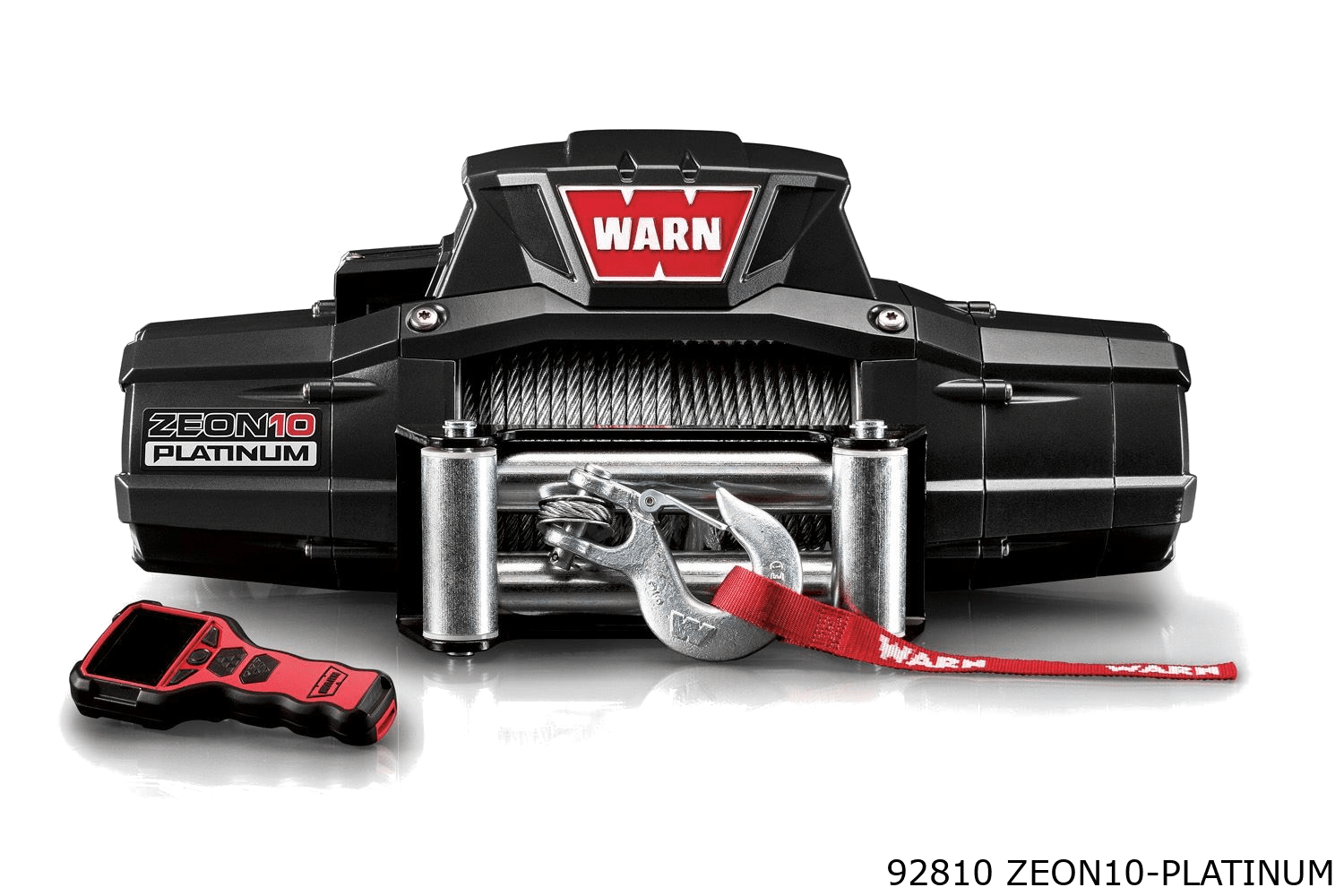 warn truck & SUV ultimate winch 92810 zeon10 platinum