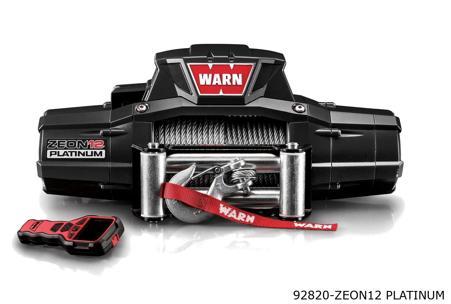 warn truck & suv ultimate winches 92820 zeon12 platinum