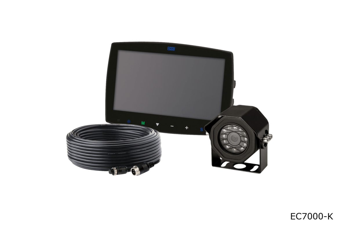 ecco camera systems ec7003-k wired systems