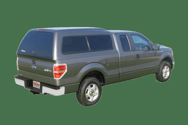 snugtop fiberglass camper shell ford sport hi-liner
