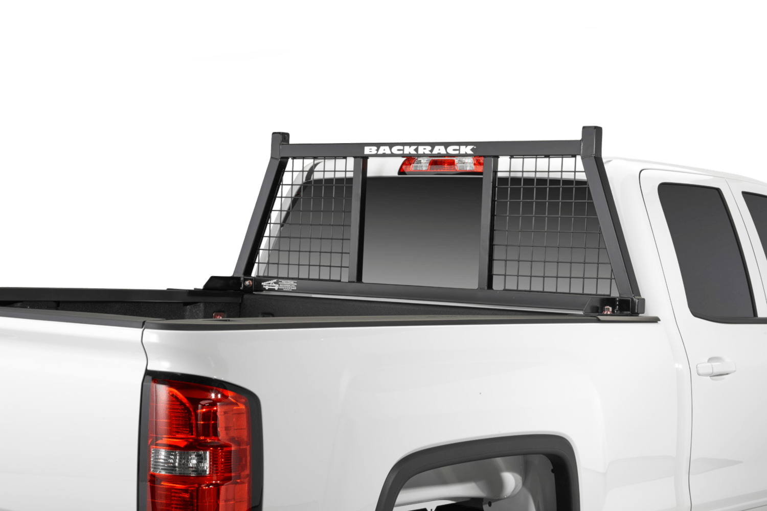 The Half Safety Rack provides strength and functionality while also providing protection for the driver and passenger in the cab.