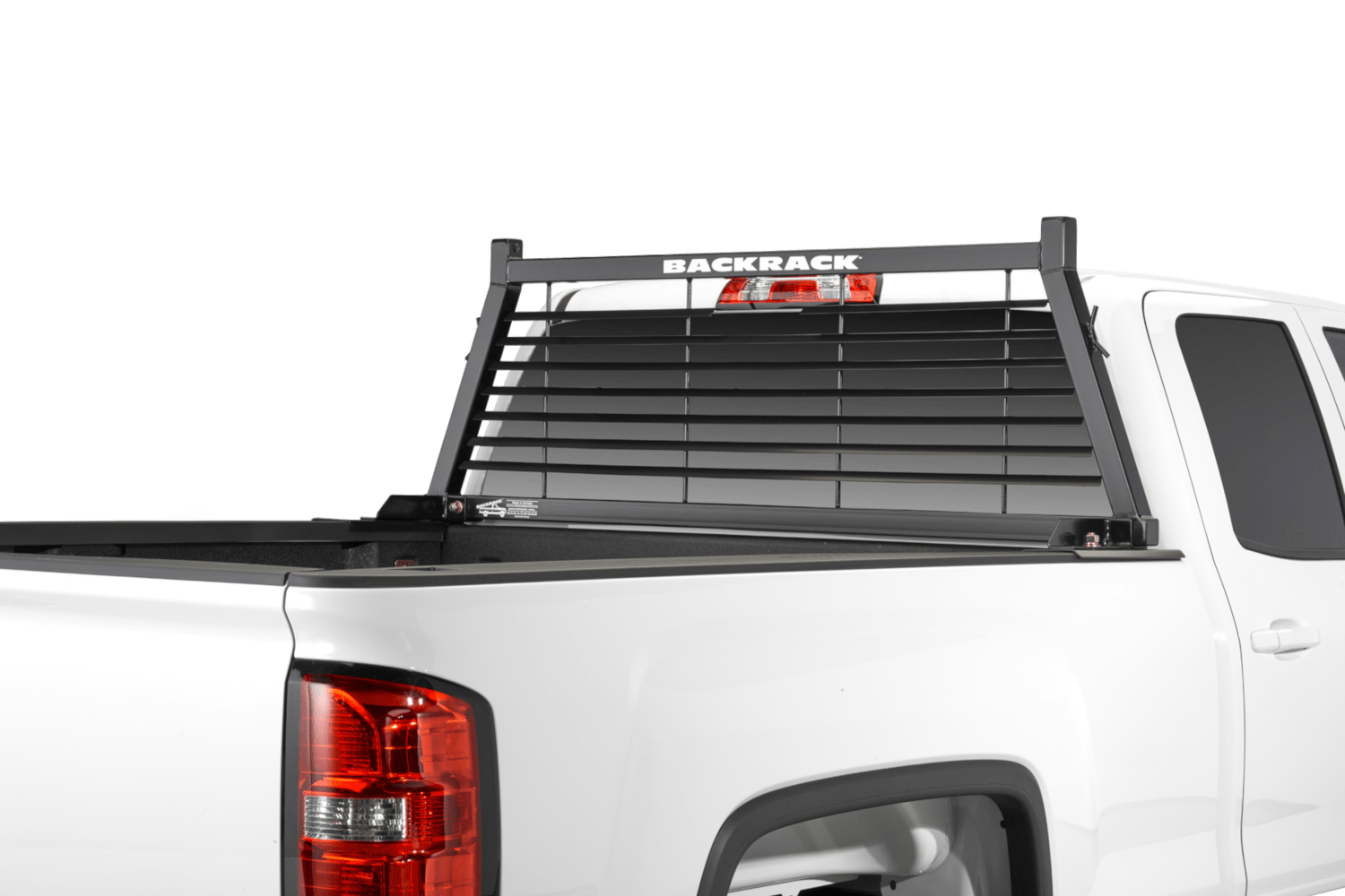 backrack louvered rack truck racks