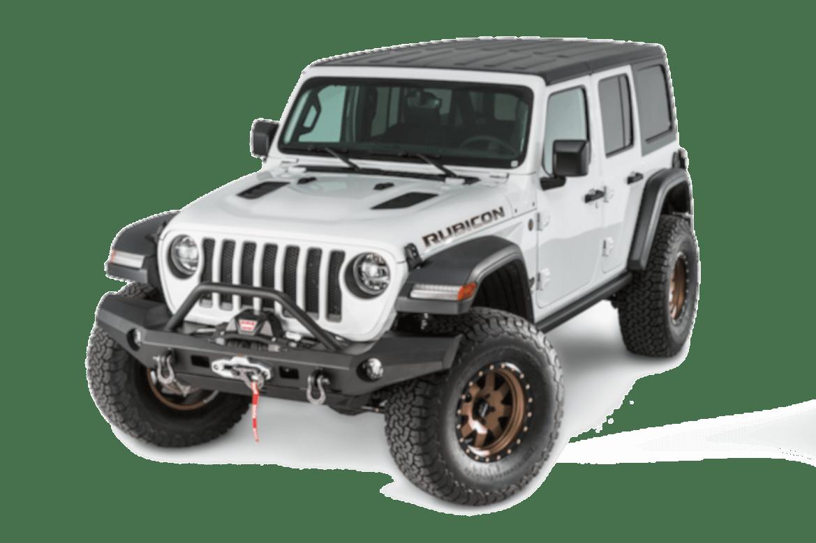 Warn truck & suv bumpers 101337 jeep jl wrangler warn industries bumpers