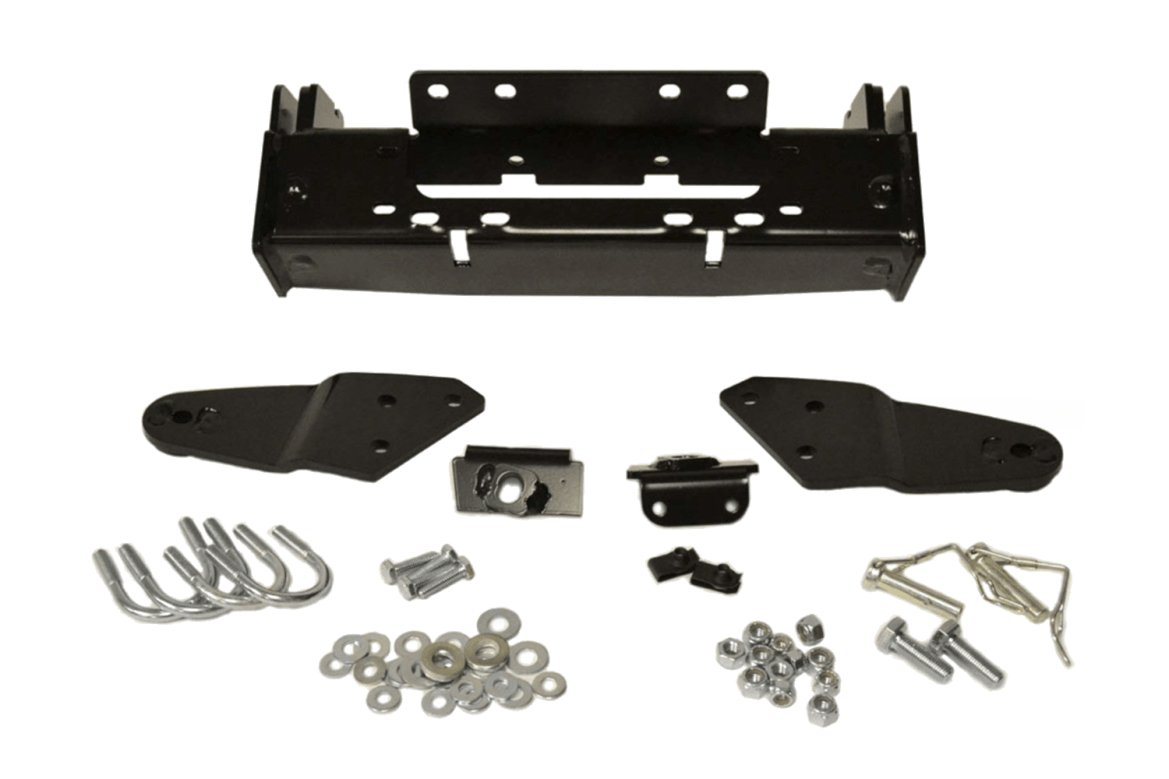 warn powersports suzuki bumpers plow mounting kits
