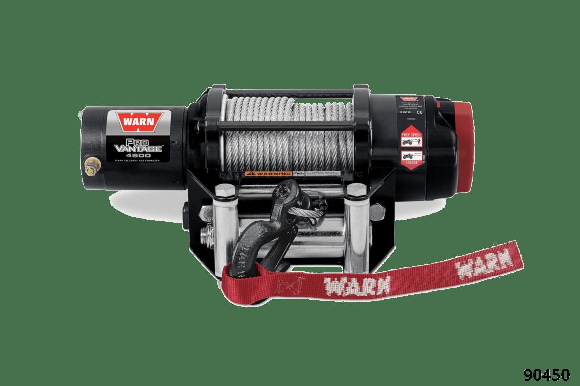 Warn powersports provantage winches provantage 4500 90450