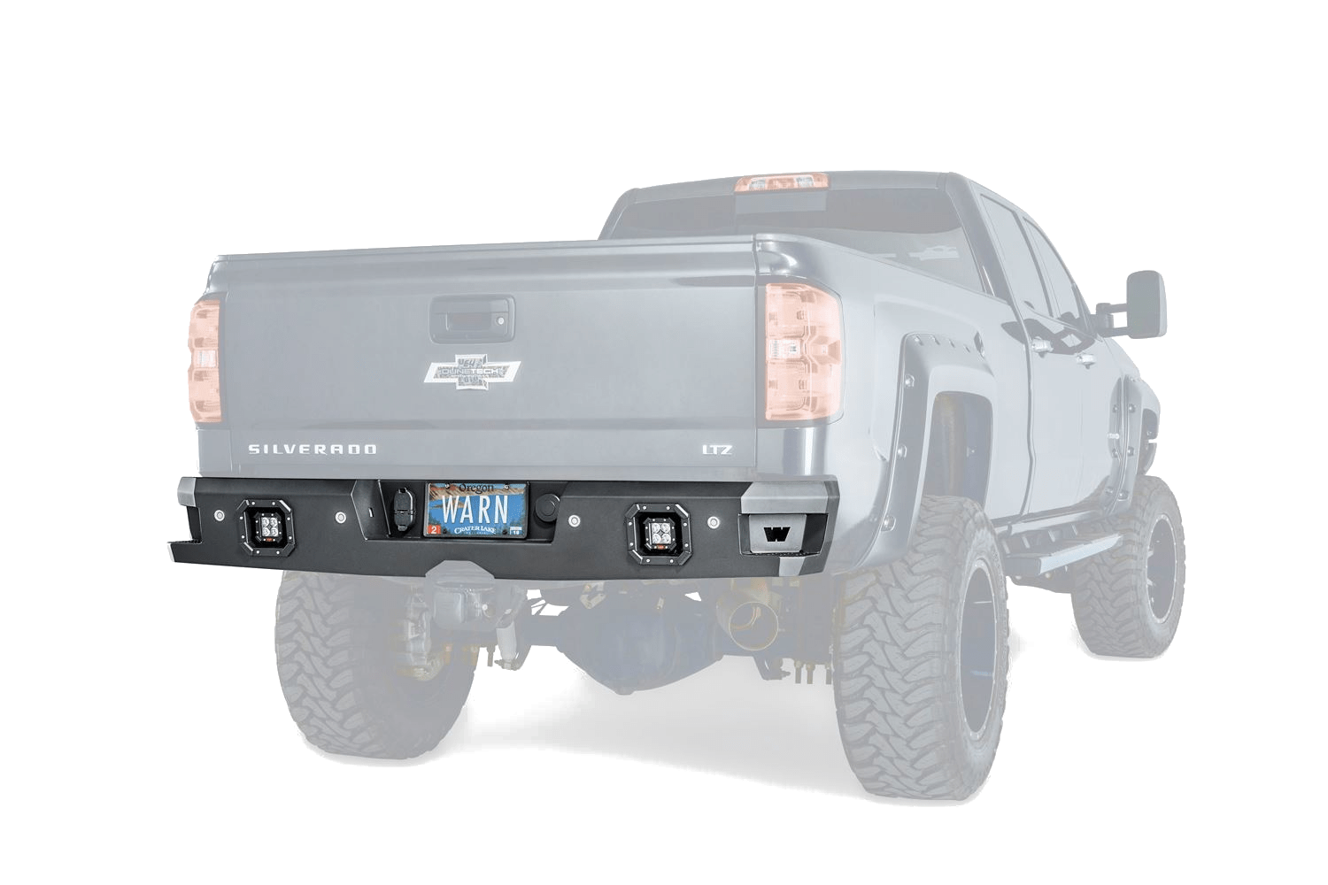 Warn Industries ascent rear bumper.
