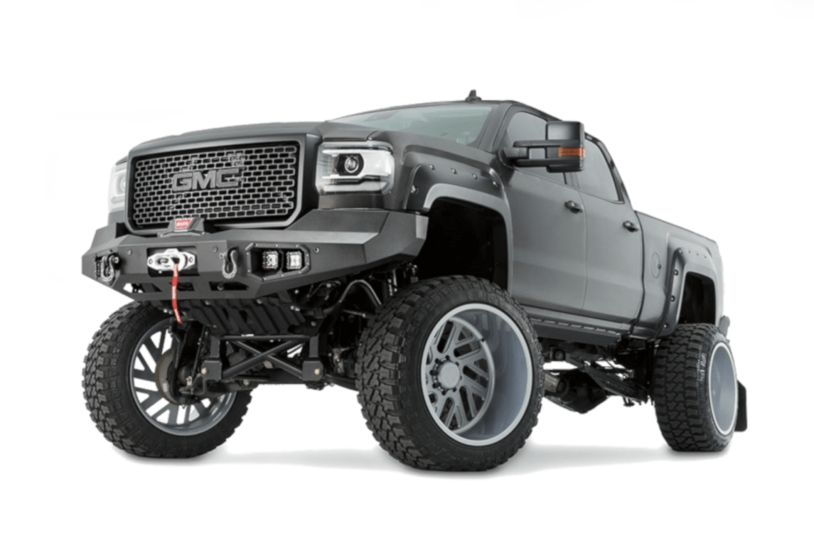 warn truck & suv mounting & protection bumpers