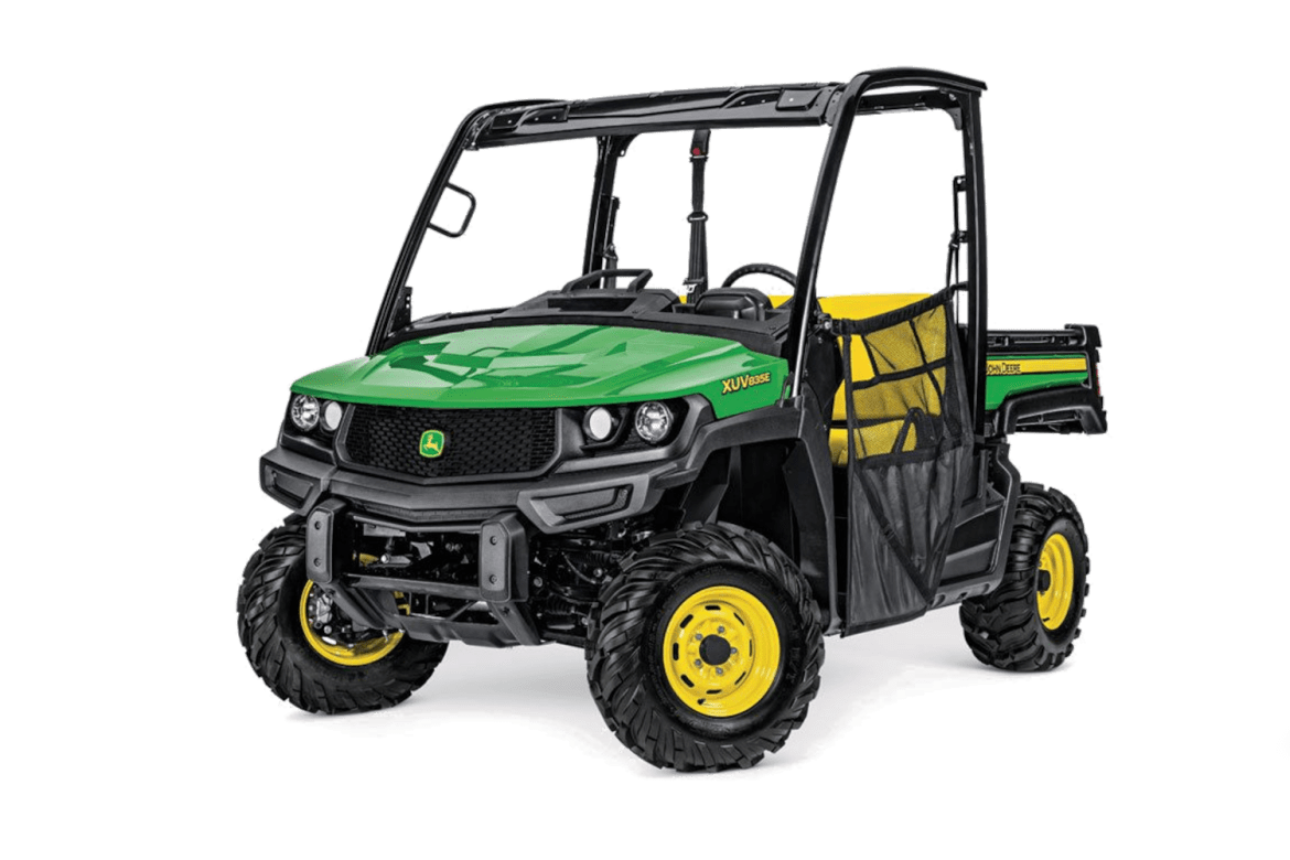 warn powersports bumpers & mounting Systems john deere xuv 835