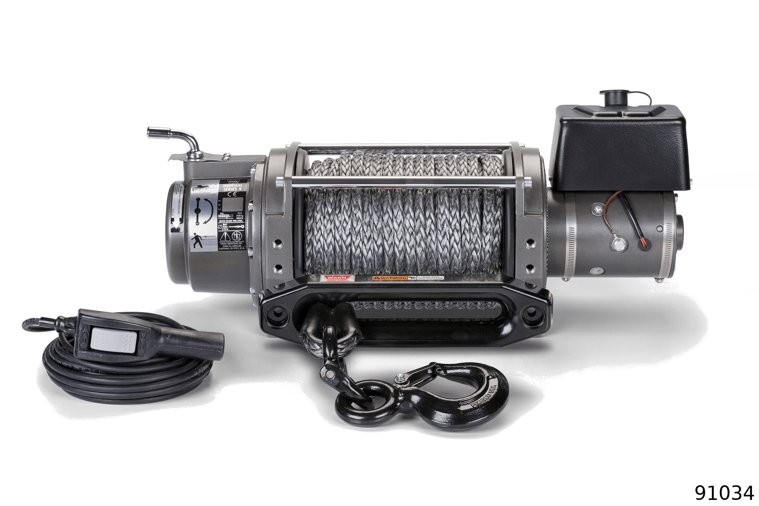 warn industrial dc electric winches pro & promax winches 91034