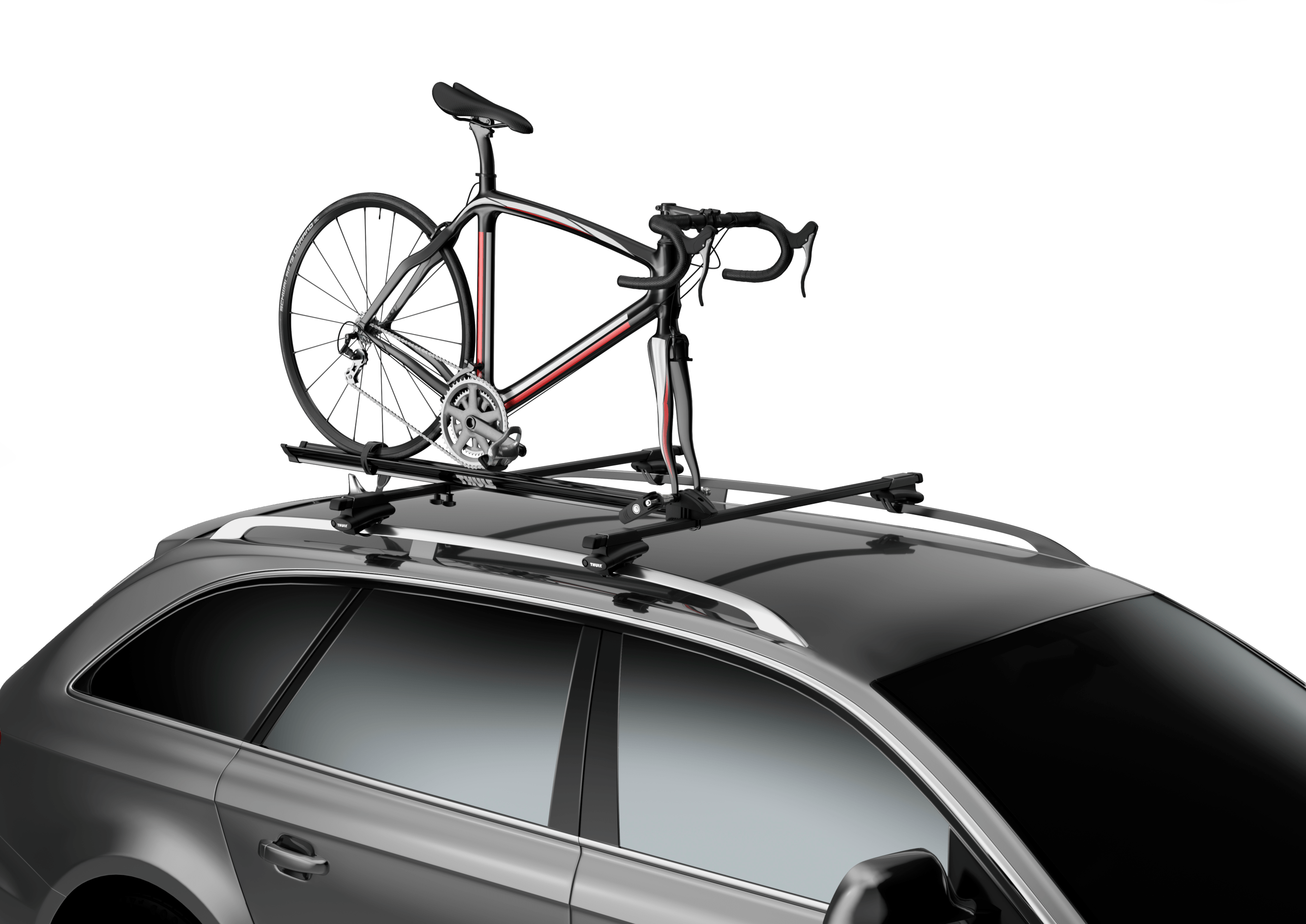thule roof bike rack, thule roof bike racks, thule prologue bike rack