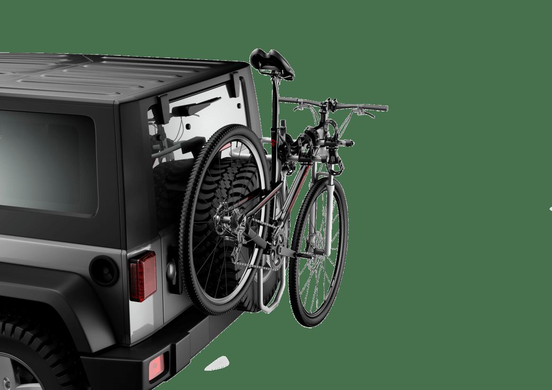 thule trunk bike racks, thule trunk bike rack, Thule helium spare me bike rack