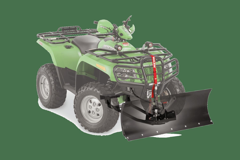 warn powersports plow systems standard plow