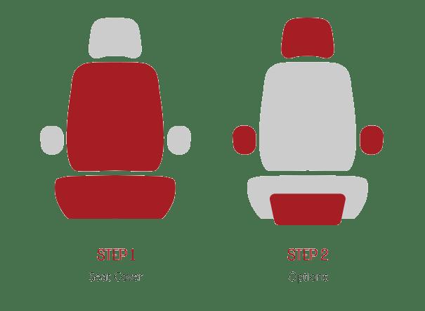 ruff tuff seat covers steps