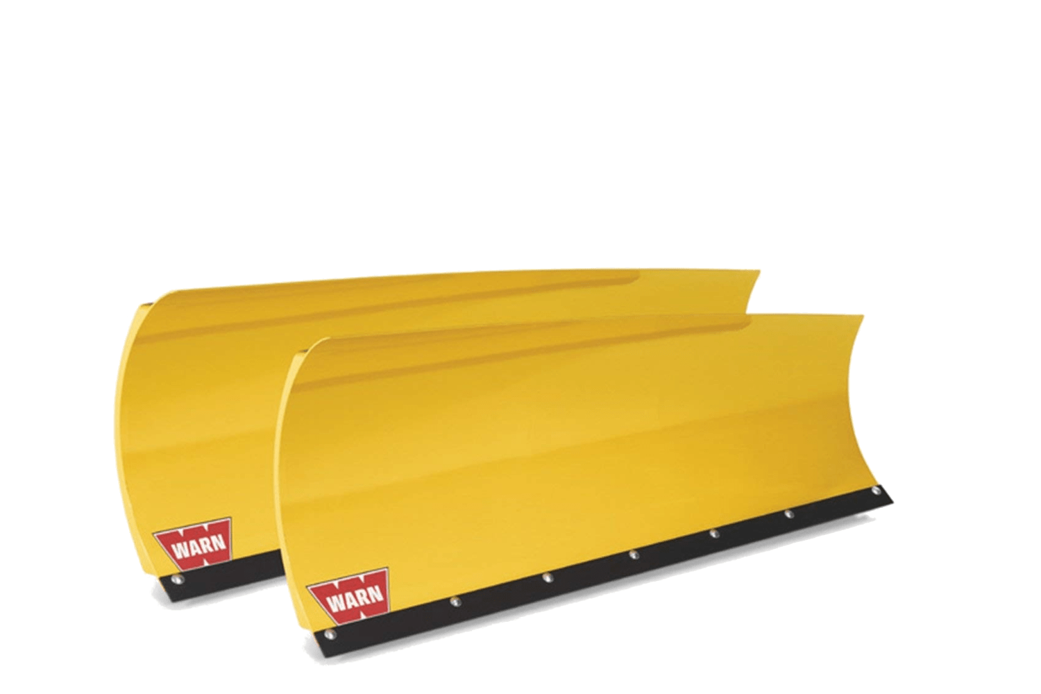 warn plow systems tapered plow blade