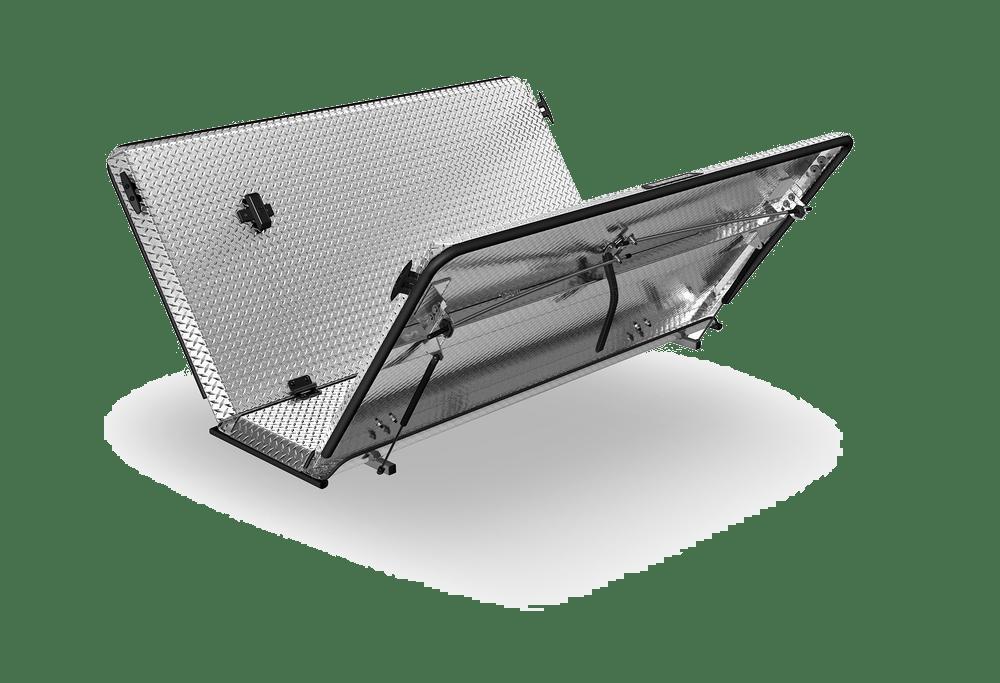 SE-aluminum-locking-tonneau-cover-angle-open