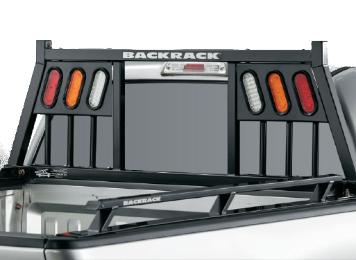 BACKRACK three light truck headache rack.