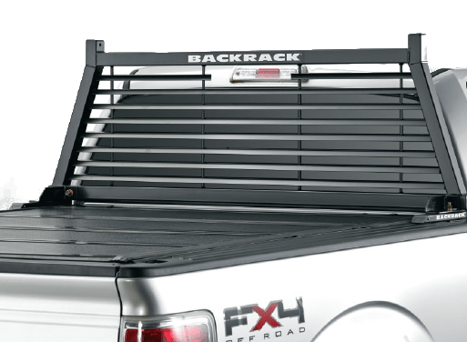 BACKRACK louvered truck rack.