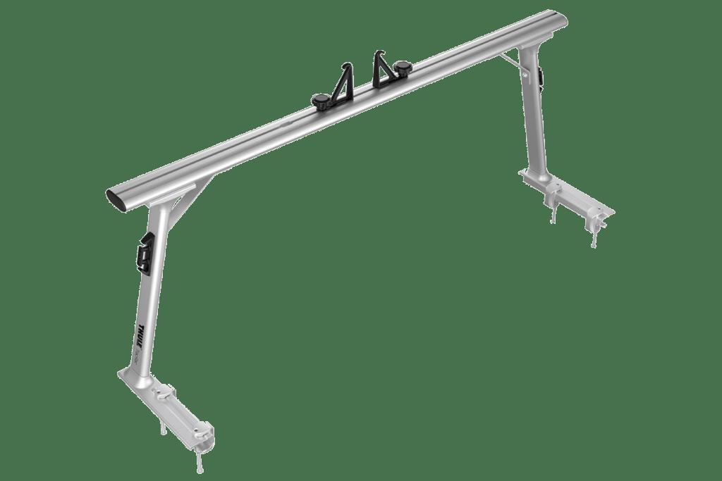 Thule TracRac Pro2 truck rack side view.