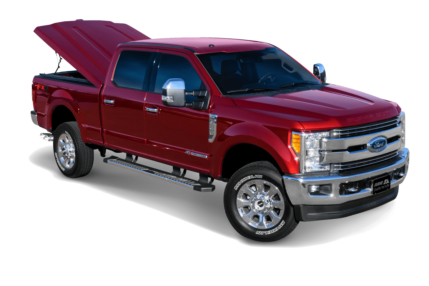 The ARE LSII shown installed on a Ford F250 SuperDuty.