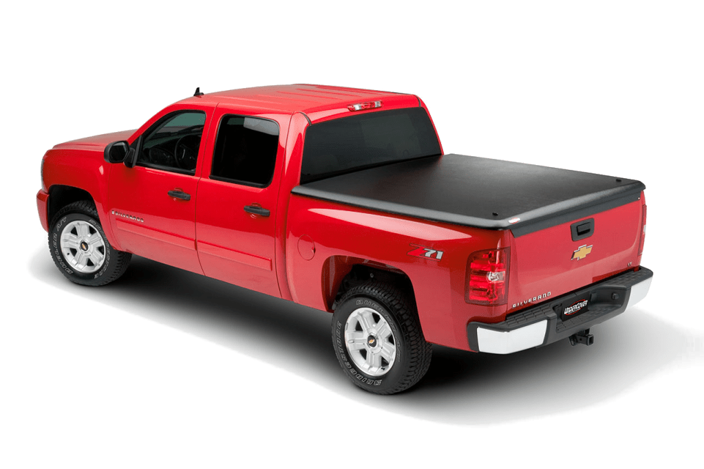 Undercover Classic ABS Plastic Tonneau Cover installed on Chevrolet Silverado.