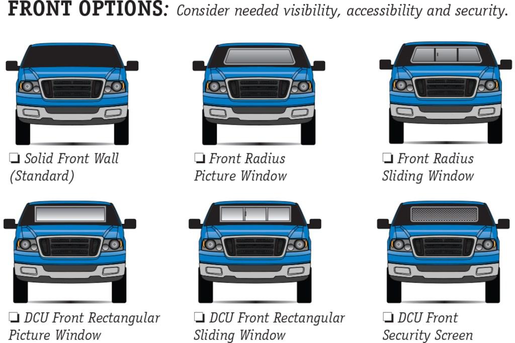Century DCU front options