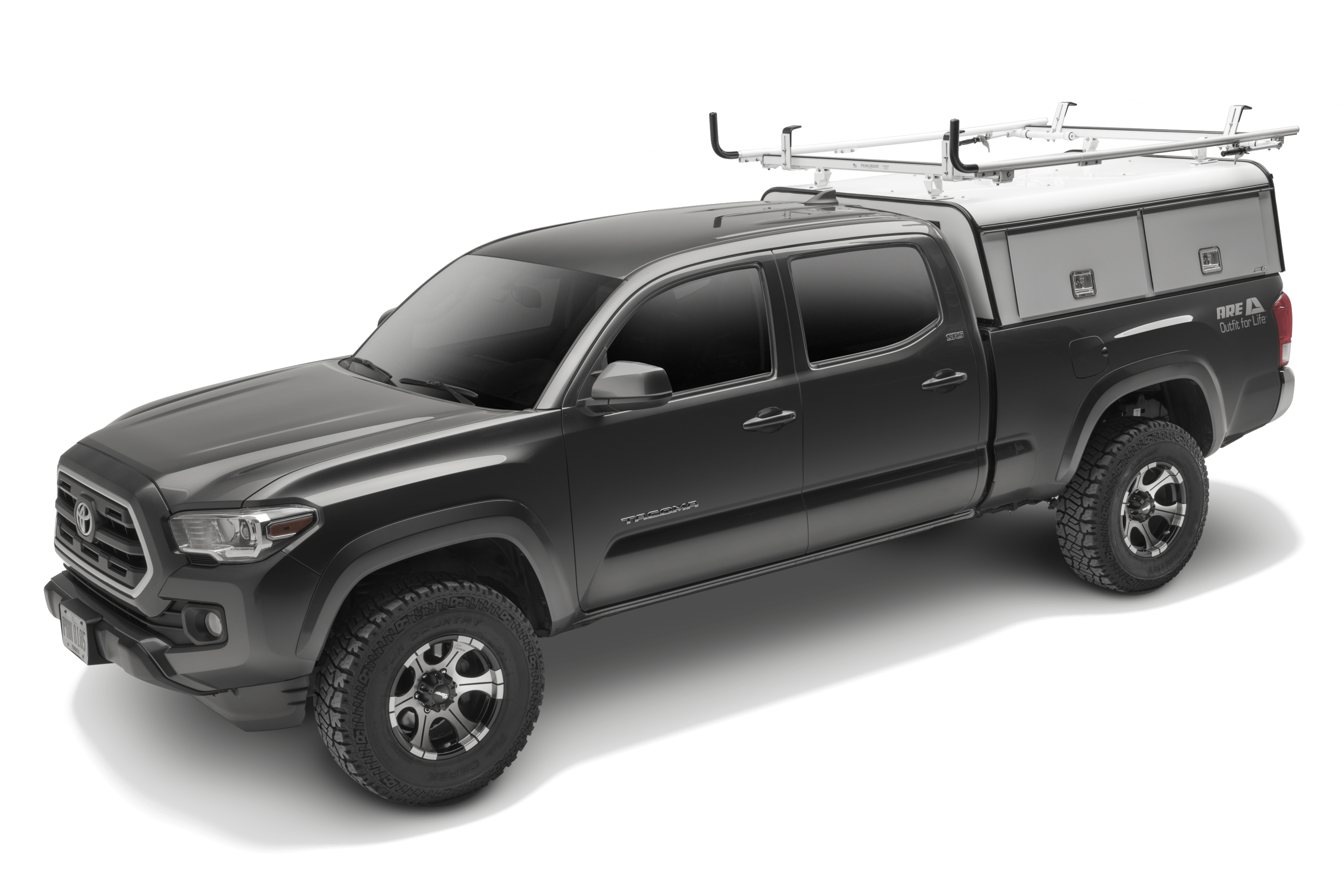 ARE DCU shown installed on a Toyota Tacoma.