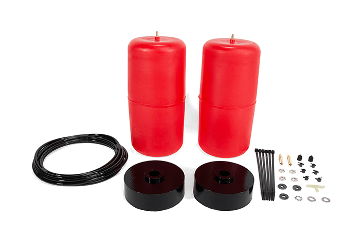 Air Lift air springs for the Jeep Gladiator.