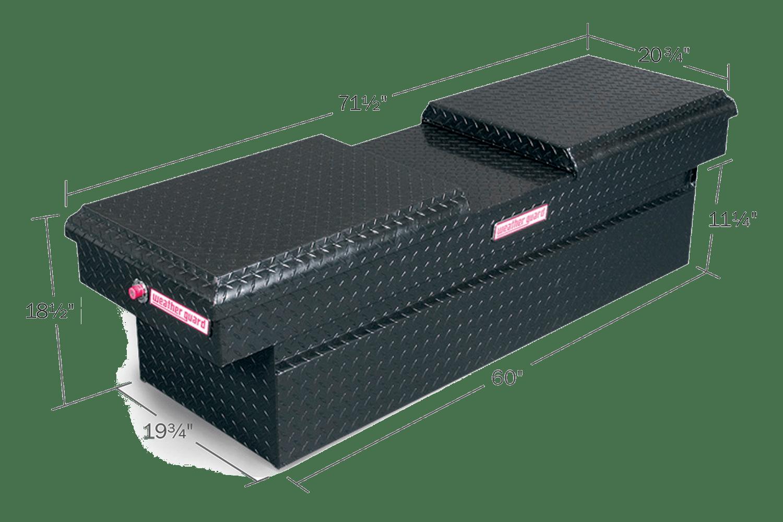Gloss Black ARMOR TUF Powder Coat (124-5-01)