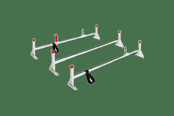 Weather Guard three tier ladder rack.