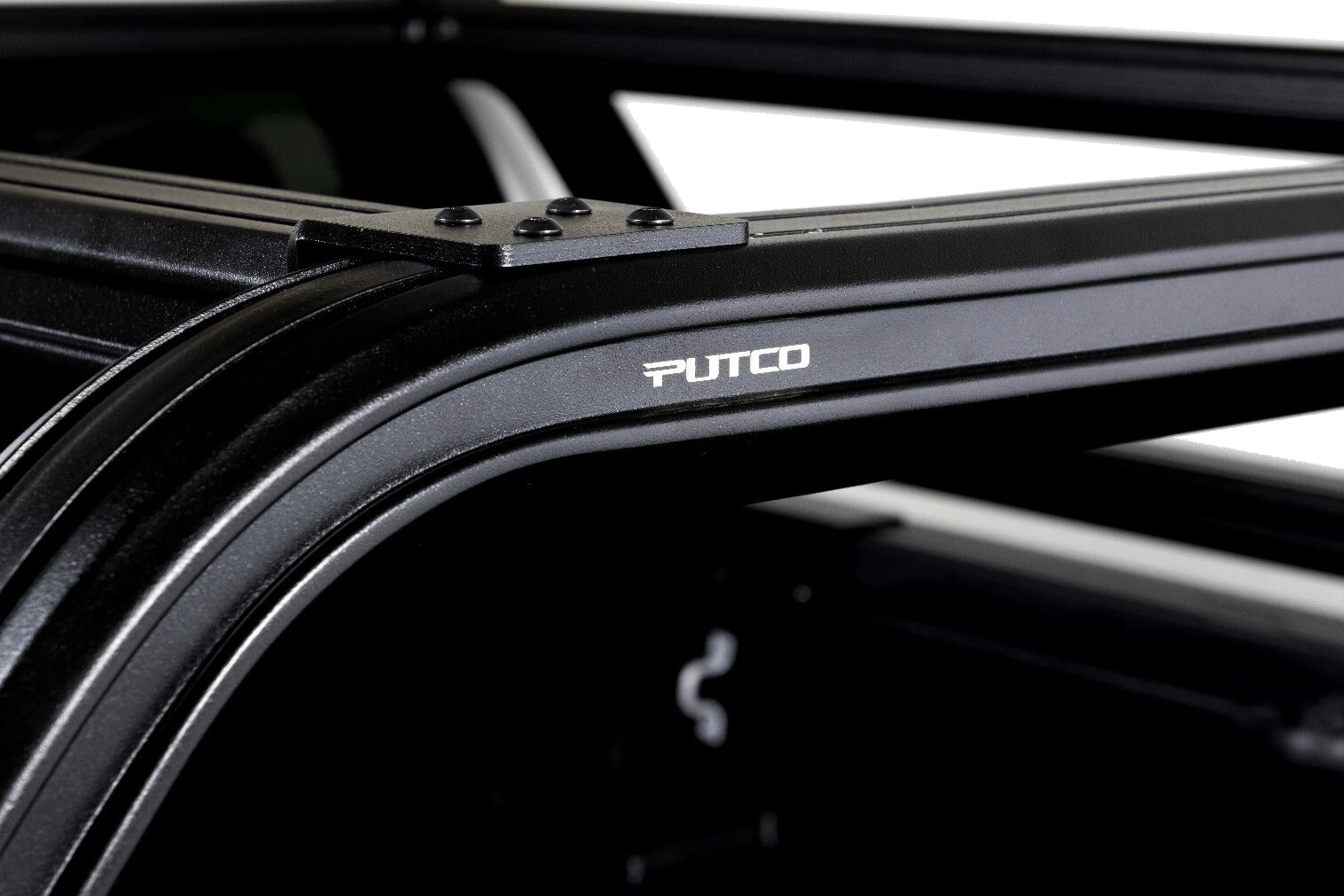 Putco overland rack close up shot.