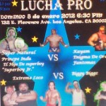 Lucha Pro 1-8-12