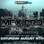 MEX PRO August 2013 flyer