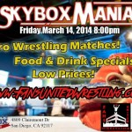 Skybox event 3-14-14 flyer