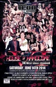 House of Hardcore 2014 flyer