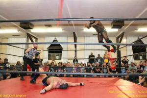 AWS - Mack takes flight to Cage 07-25-2015