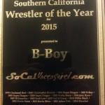 B-Boy award