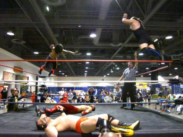2011: M1W 'Wrath of Con III' as part of the LBCC. Stu Stone, Nick Madrid, Jarek Matthews (Jarek 420), and Shaun Rickers (Eli Drake) were part of the card.