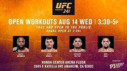 UFC 241 Fight Week