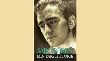 Forsiden på Morten Things bog om sin fader.