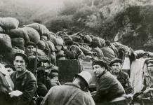 Armed civilians from the Republican side during the Battle of Irún. 1936. Source: The Collection Database of the Biblioteca Nacional de Defensa under the ID Number: 93753. Photo: ukendt. (CC0 1.0)