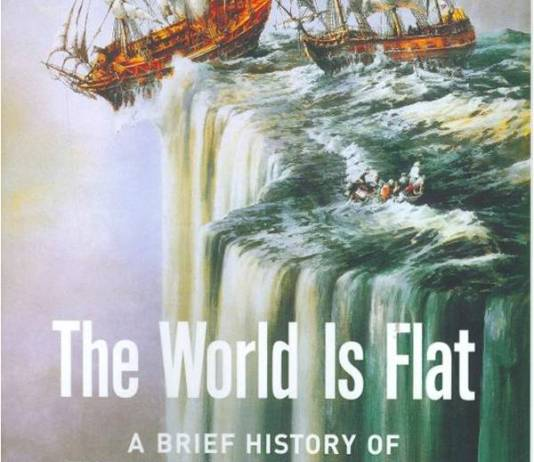 """Cover for Friedmans book """"The World is Flat"""""""