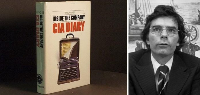 Philip Agee og bogen CIA Diary : Indside the Company.