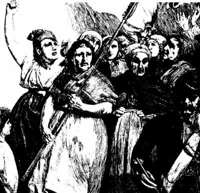Kvinder under Pariserkommunen, 1871