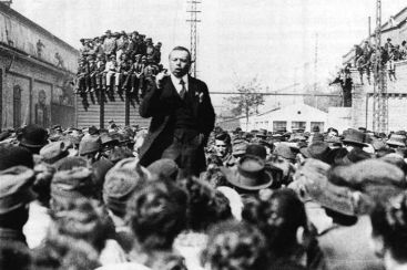 Béla Kun was the leader of the Hungarian Revolution of 1919.